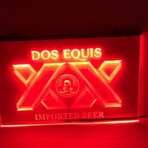 Dos XX led beer sing Dos XX beer neon sign